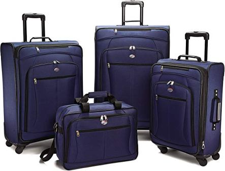American Tourister Luggage Pop Extra Spinner 4-pc Set