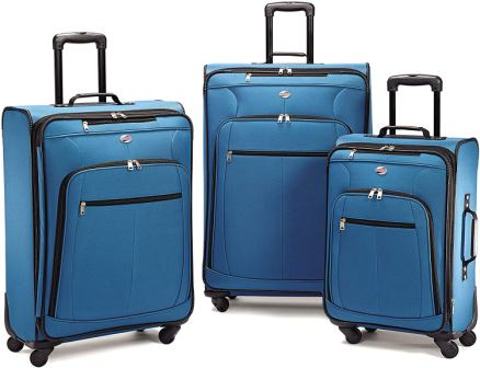 American Tourister Pop Max Softside 3 pc Luggage Set