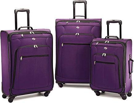 American Tourister Pop Plus 3-piece Softside Luggage Set