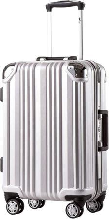 Coolife Aluminium Frame with TSA Lock Luggage