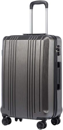 Coolife PC+ABS with TSA Lock Spinner Luggage