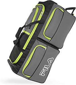 Fila 7-Pocket Rolling Duffel Bag
