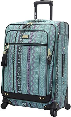 Large Turquoise Softside Luggage