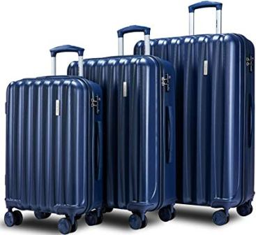 Merax Hylas 3-Pc Luggage Set