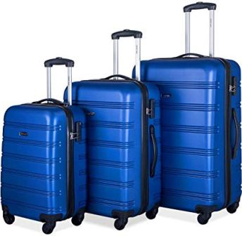 Merax Mellowdy 3-Pc Set Expandable Luggage