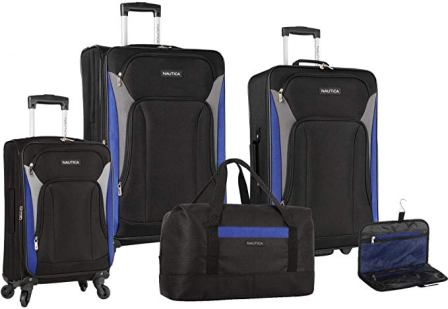 Nautica 5-piece Lightweight Luggage Set