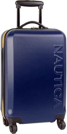Nautica Ahoy Luggage Suitcase