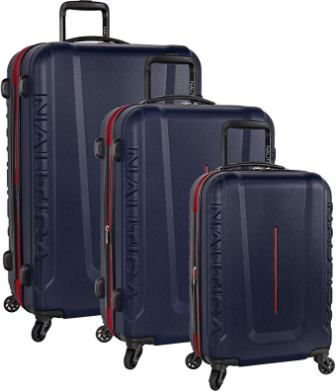 Nautica Hardside 3-piece Luggage Set