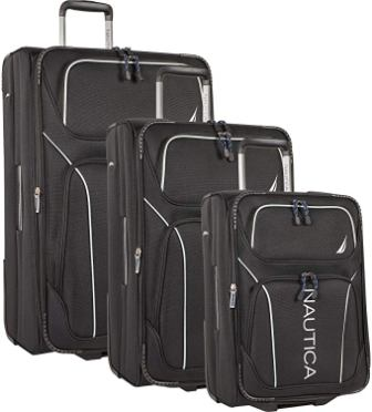 Nautica Lightweight 3-piece Luggage Set