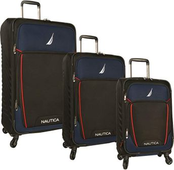 Nautica Spinner Luggage Set