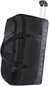 "Perry Ellis A324 24"" Rolling Duffel Bag"