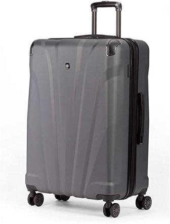 SwissGear 7330 26-inch Hardside Spinner Luggage (Dark Gray)