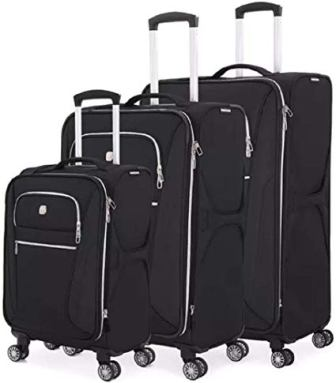 SwissGear 7850 3-pc Expandable Spinner Luggage