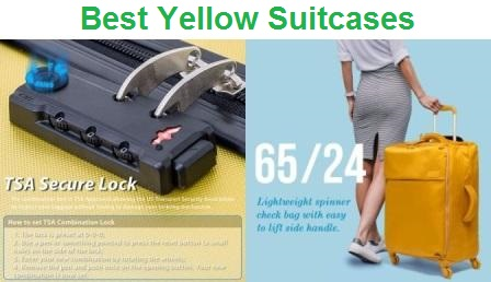 Top 10 Best Yellow Suitcases in 2019