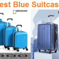 Top 15 Best Blue Suitcases Reviews in 2019