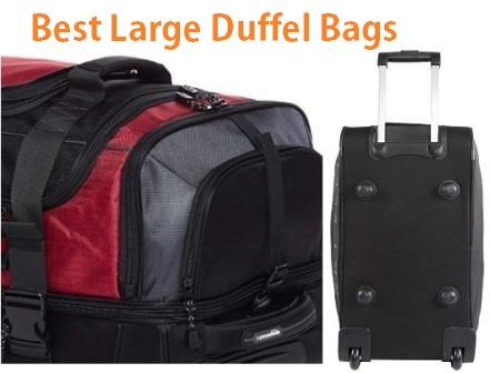 Top 15 Best Large Duffel Bags in 2019