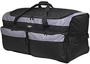 "Travelers Club 36"" 3-Wheel Rolling Duffel Bag"