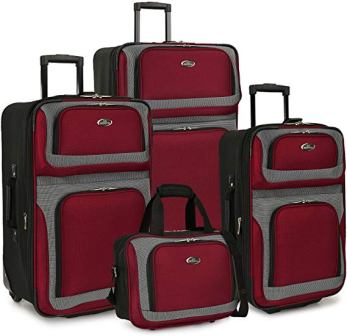 US TRAVELER NEW YORKER EXPANDABLE ROLLING LUGGAGE