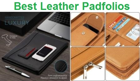 Top 15 Best Leather Padfolios in 2019
