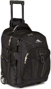 High Sierra XBT Laptop Wheeled Backpack