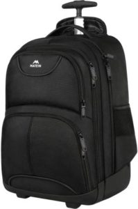Matein Waterproof Wheeled Backpack