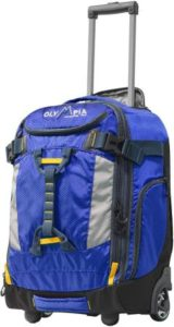 """Olympia Cascade 20"""" Carry-on Backpack"""