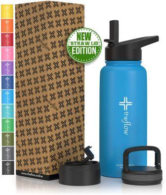 the flow Stainless Steel Water Bottle Double Walled/Vacuum Insulated