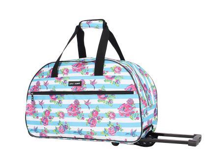 Betsey Johnson Designer Carry-On Lightweight 22 Inch Duffel Bag