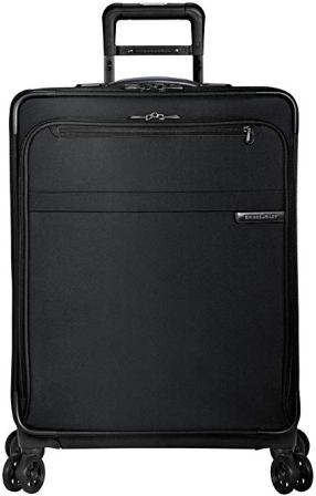 Briggs & Riley Baseline-Softside CX Expandable Medium Checked Spinner Luggage