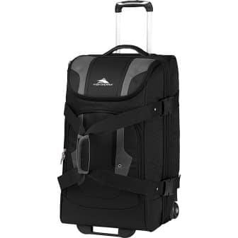 High Sierra Adventure Access Wheeled Upright Duffel Bag