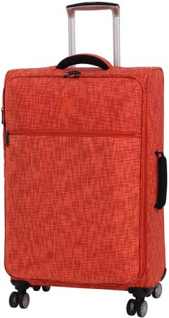 "IT Luggage 26.8"" Stitched Squares Expandable Spinner"