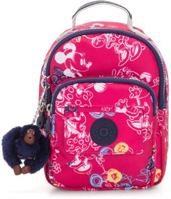 Kipling x Disney's Minnie Mouse and Mickey Mouse Seoul Go Backpack