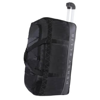 Perry Ellis Men's 24 Lightweight Rolling Bag