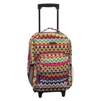 Rockland 17-inch Rolling Backpack