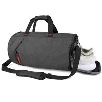 SCIONE Sports Gym Bag for Men Waterproof Travel Duffel Bag