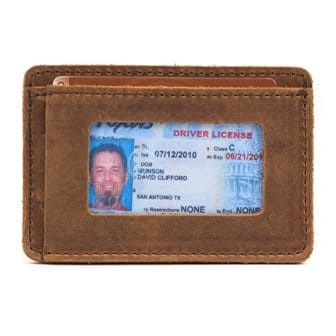 Saddleback Leather Co. Slim Leather Wallet