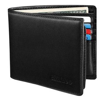 Simideo Men's TOP Genuine Leather wallet
