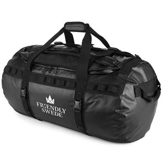 The Friendly Swede Duffel bag with Backpack Straps - Sandhamn
