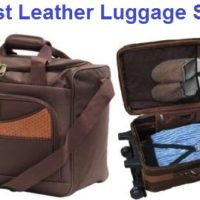 Top 10 Best Leather Luggage Sets in 2020