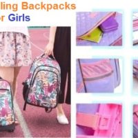 Top 15 Best Rolling Backpacks for Girls in 2020