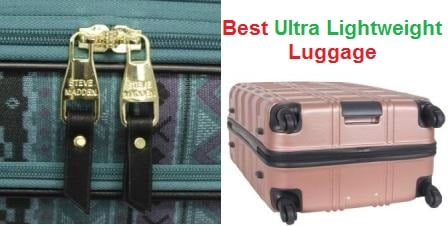 Top 15 Best Ultra Lightweight Luggage in 2020