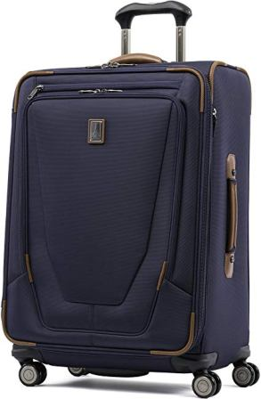 Travelpro Luggage Crew 11 25″ Expandable Spinner Suitcase w/Suiter