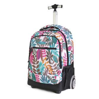 Zilee Lightweight Wheeled Rolling Backpacks