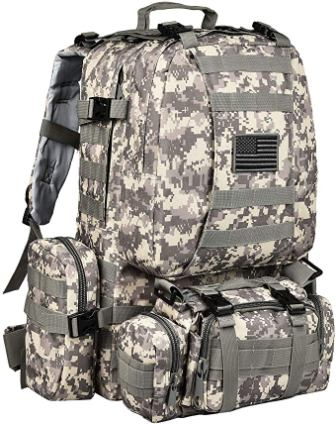 CVLIFE Tactical Backpack Military Army Rucksack