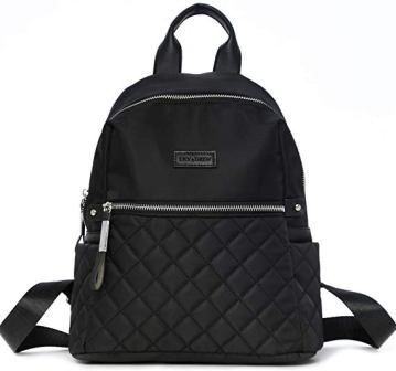 LILY & DREW NYLON CASUAL TRAVEL MINI BACKPACK