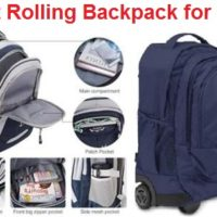 Top 14 Best Rolling Backpack for Boys in 2020