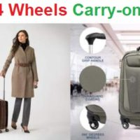 Top 15 Best 4 Wheels Carry-on Bags in 2020