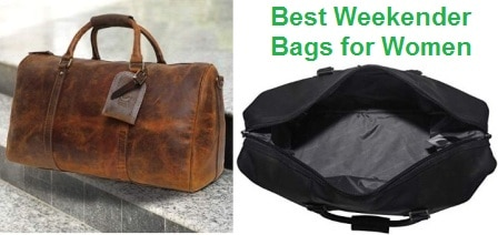 Top 15 Best Weekender Bags for Women in 2020