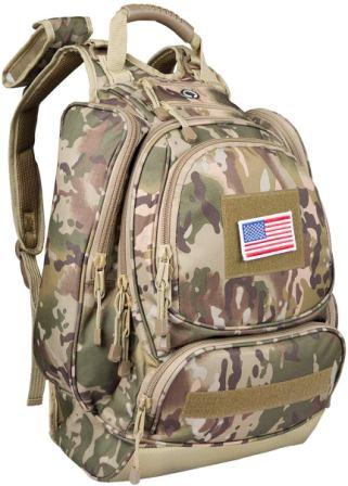 paladins Camo Military Heavy Duty Hydration Backpack