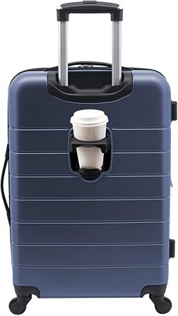 20-inch spinner luggage by Wrangler